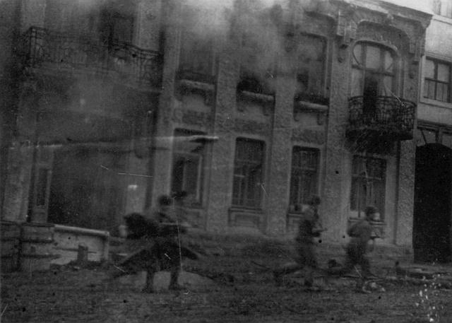 Уличный бой в центре Винницы 20 марта 1944 года