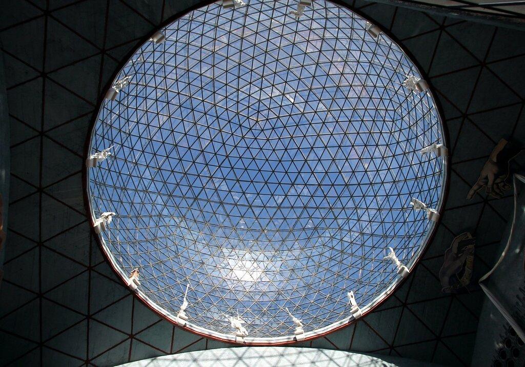 Фигерас. Музей Сальвадора Дали. Зал под куполом