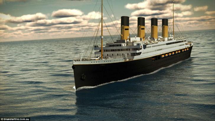Вот так будет выглядеть в 2018 году «Титаник II».