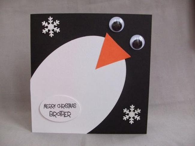 © trendvee  Нам очень понравился этот пингвин, удачно придумано. Вам понадобится черный ибелы