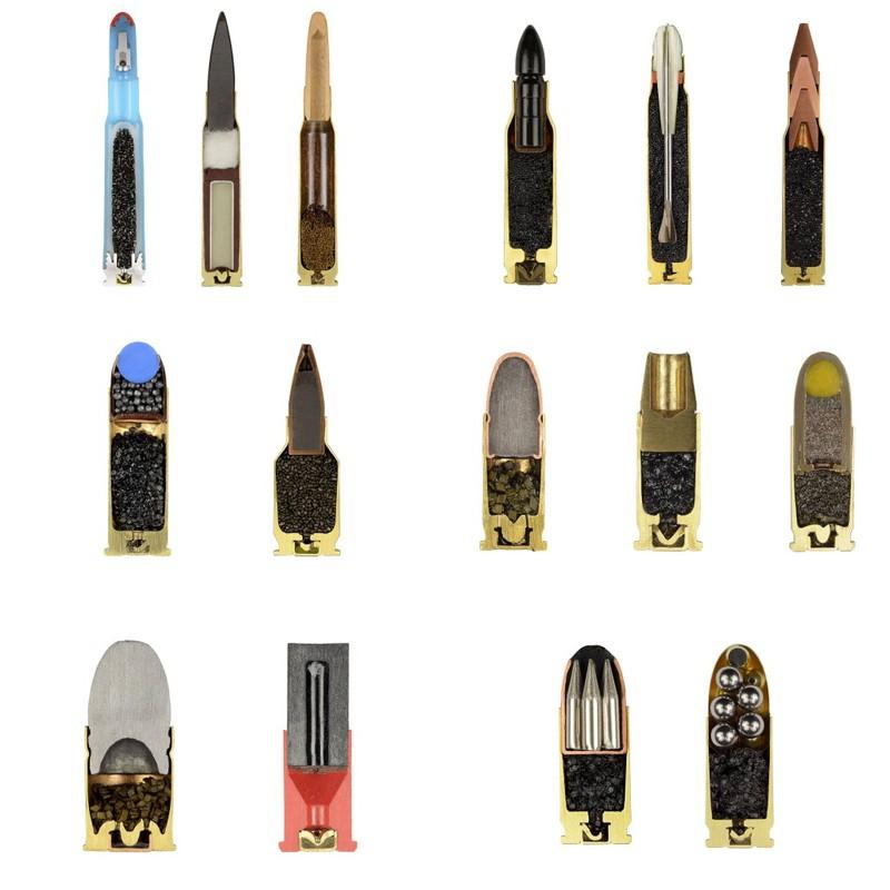 11. Разные типы патронов ( imgur.com )