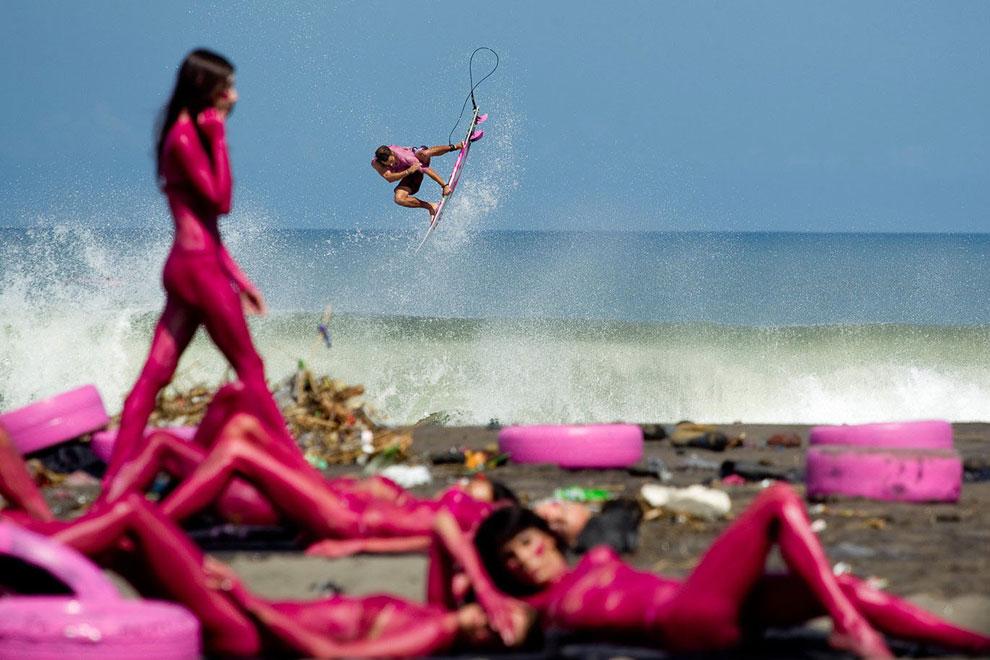 На Фиджи. (Фото Stuart Gibson   Red Bull Illume):