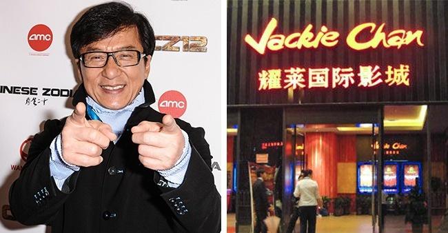 © REX  © Jackie Chan Cinema  Джеки Чан хорошо известен повсему миру ибезумно популярен