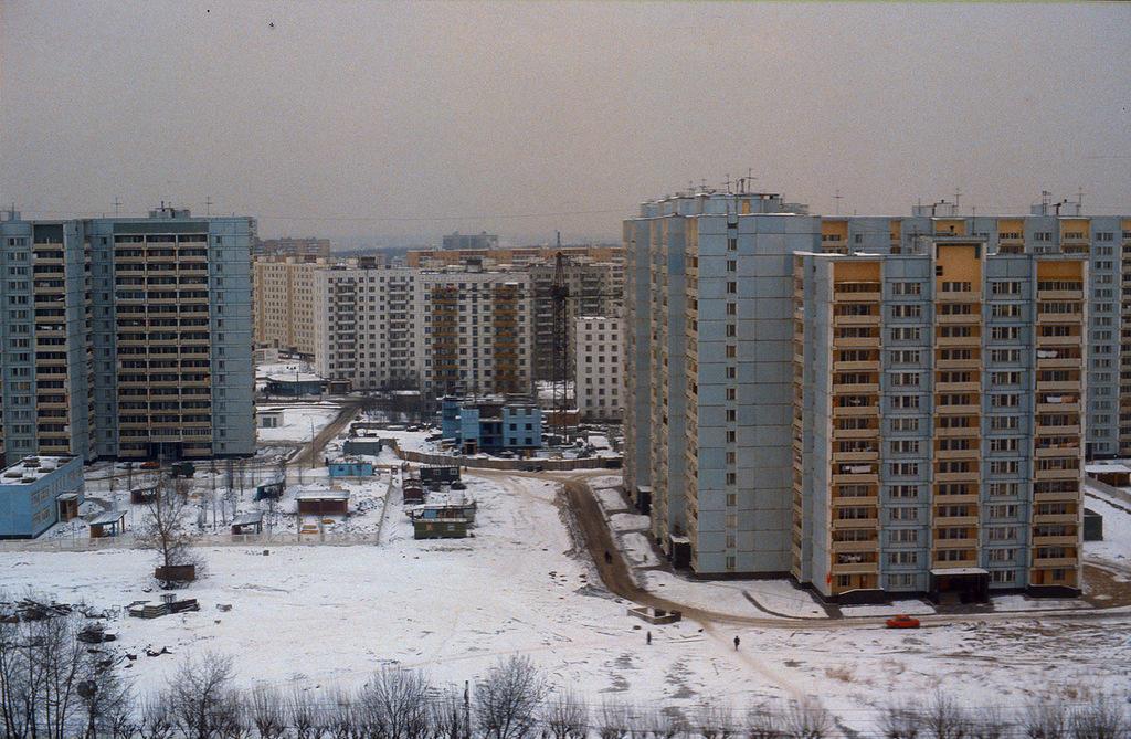 Московские новостройки.