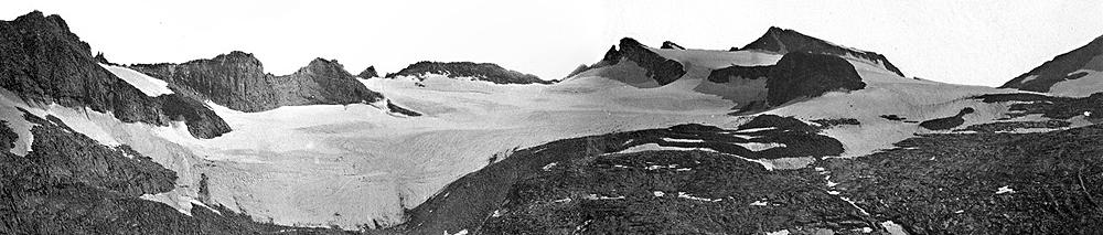 Ледник Лайелла— второй повеличине вгорах Сьерра-Невада— потерял почти 80процентов своей площади