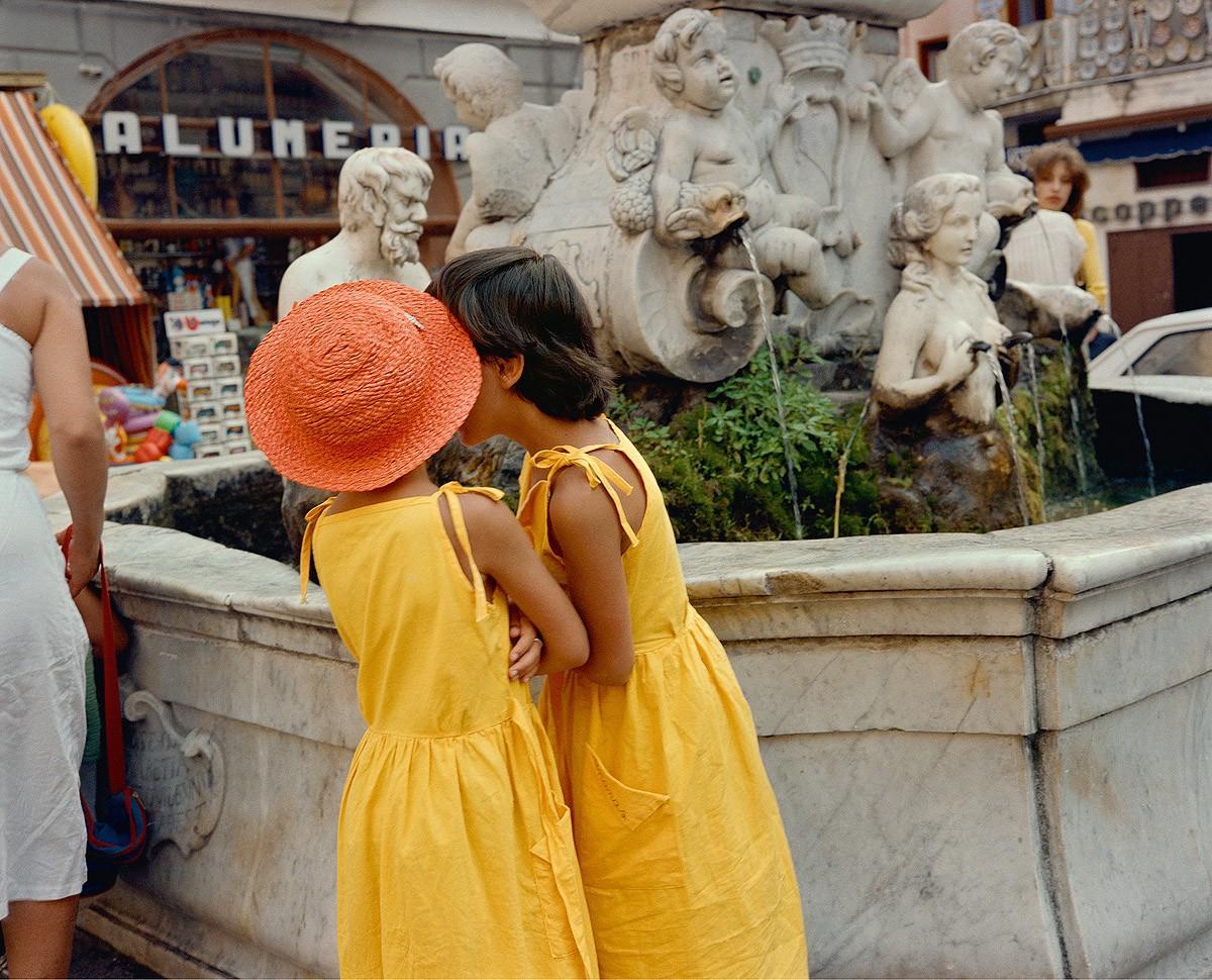 6. Рим, 1981. (Charles Traub)