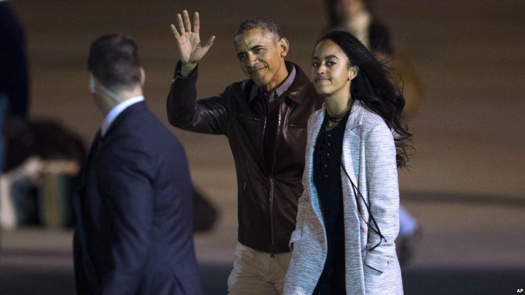 Старшая дочь Обамы пойдет учиться вГарвард