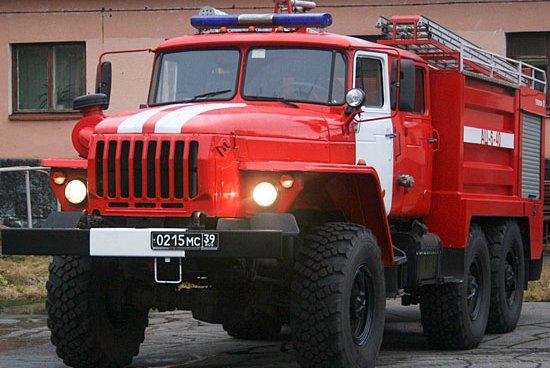 Вподмосковном Ногинске зажегся склад