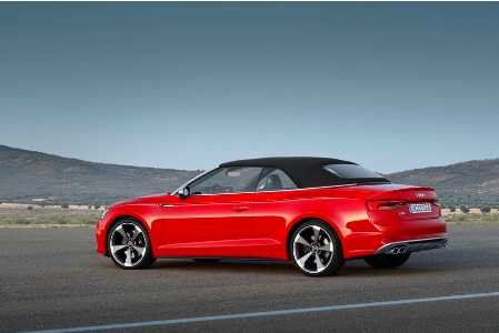 На автомобильном салоне вДетройте состоится презентация Аudi S5 Cabriolet
