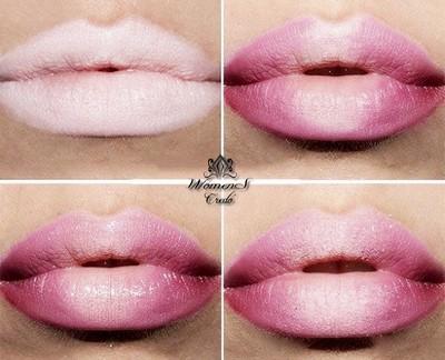 Фотоурок макияжа губ