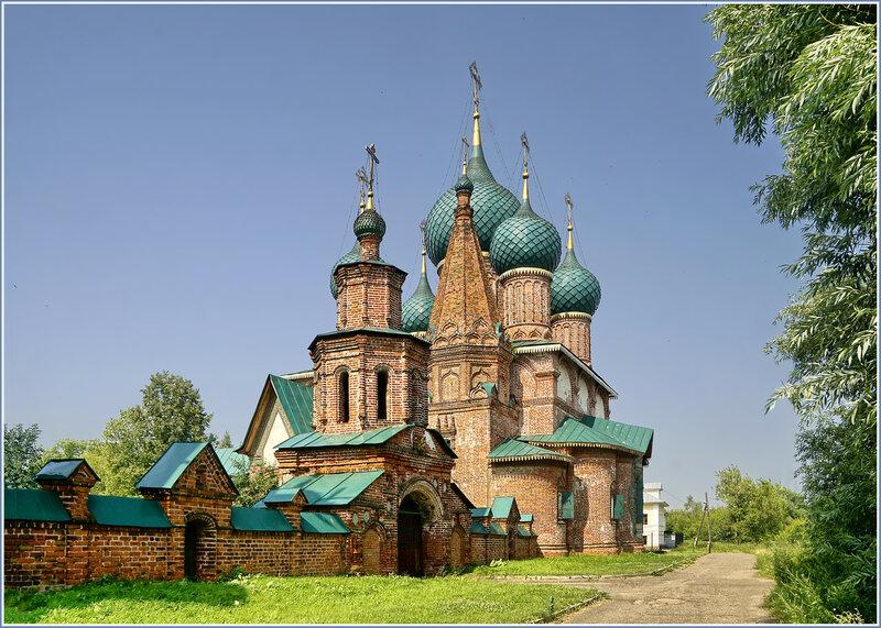 Храмы в Коровниках. Ярославль
