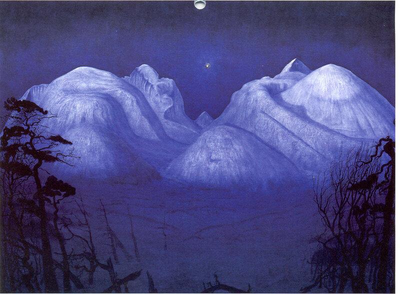Vinternatt. ������ ���� � ������� (1914), ������������ ����� ���������, ����������� � �������, ����