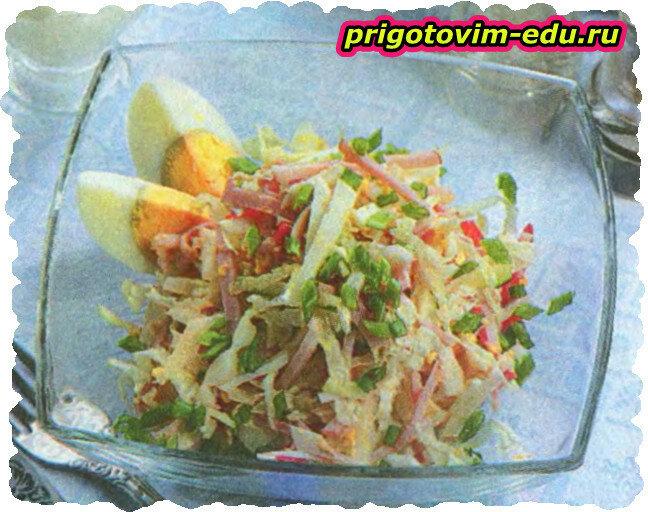 Салатик с пекинской капустой