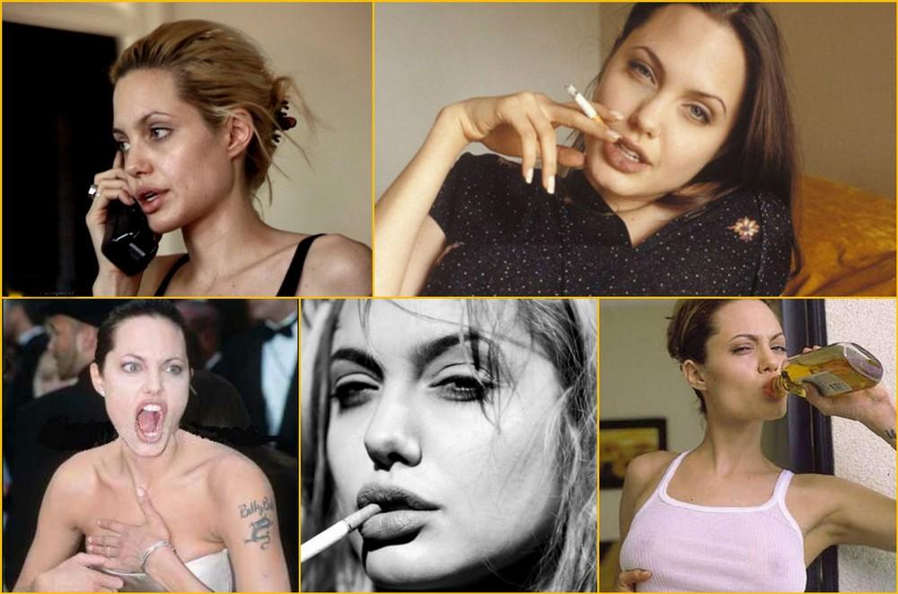 Анджелина Джоли бурная молодость