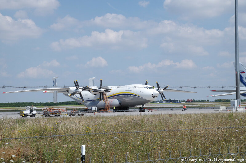 Ан-22 в Лейпциге