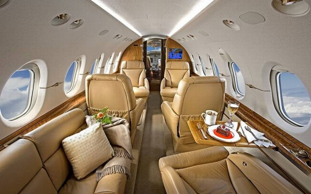 Photo courtesy of Nick Gleis Photography Some of the most luxurious private jets according to TheRic