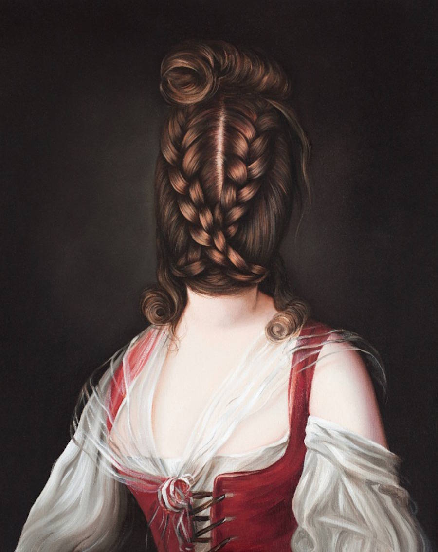 Beautiful and Quirky Portraits Paintings