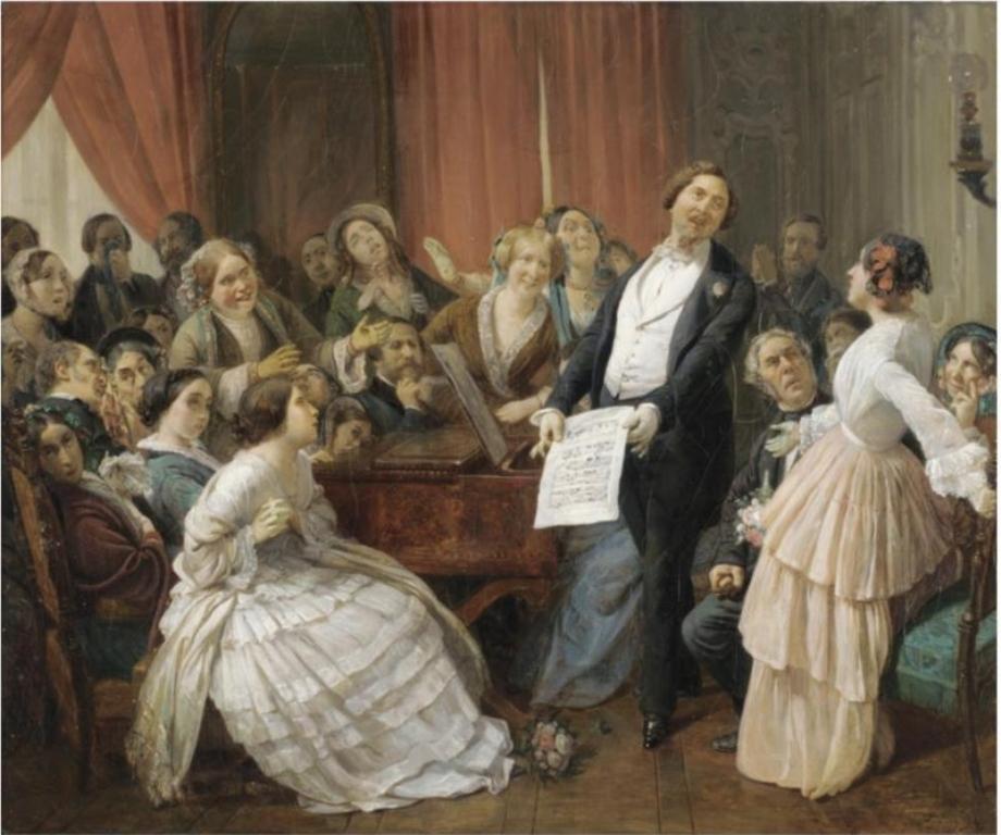 3 Francois-Auguste_Biard_-_Triomphe_d'un_T_nor_dans_une_Matin_e_musicale.jpg