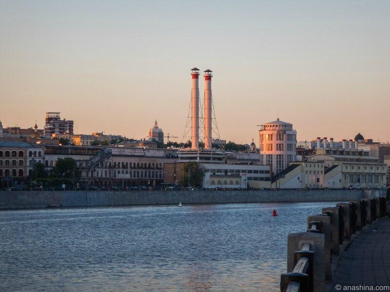 Краснопресненская ТЭЦ, Москва