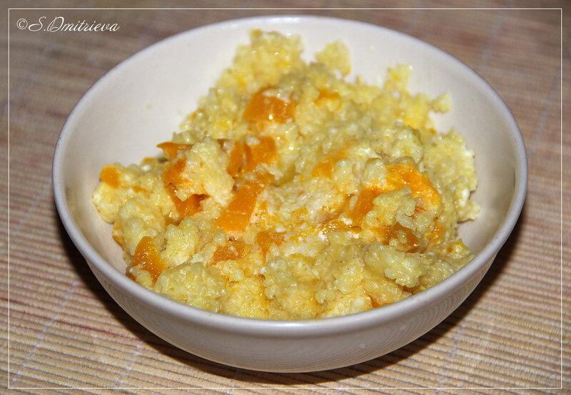 Фото рецепты пошагово пшенная каша с тыквой