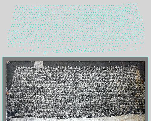 Подсчёт количества людей на фотографии Кексгольмского полка