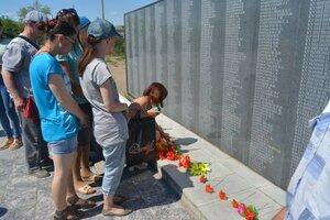 Митинг посвящённый Дню памяти и скорби состоялся 22 июня на городском мемориальном комплексе