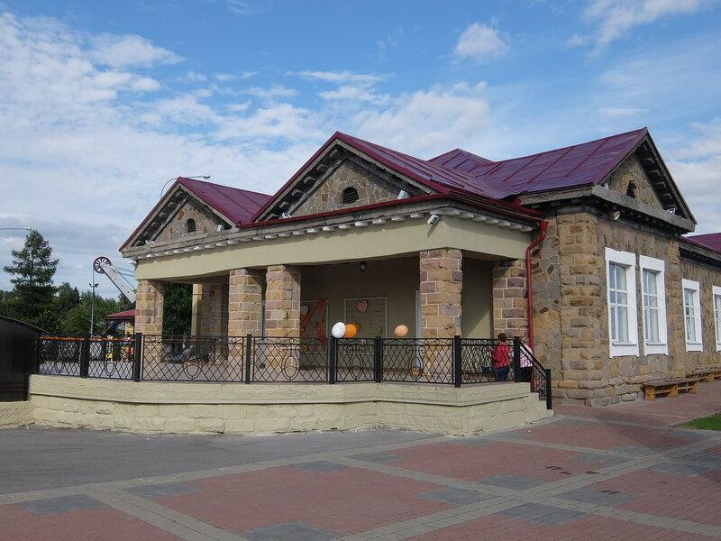 Кемерово - Красная Горка - Здание музея