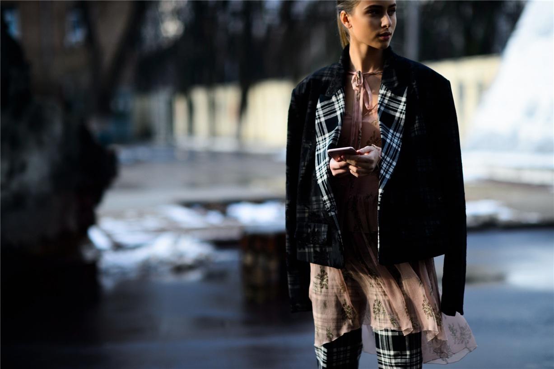 Уличная мода Киева - Софья Евдокименко / Sofia Evdokimenko - Ukrainian Fashion Week Fall 2016 Street Style by Adam Katz Sinding