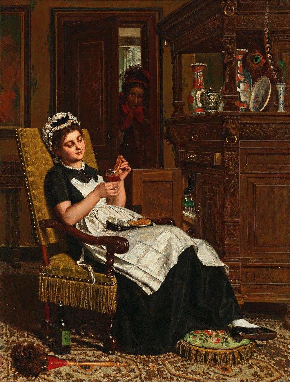 Evert Jan Boks (Beekbergen 1838�1914 Antwerp)<br /> �On n�est jamais mieux servi que par soi-meme�