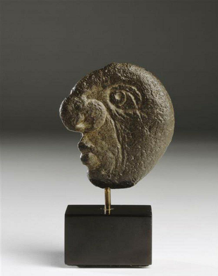 1947. Скульптура работы Пикассо