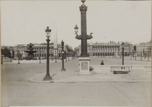 1914. В определенные часы некоторые места Парижа кажутся абсолютно пустынными. 25 сентября