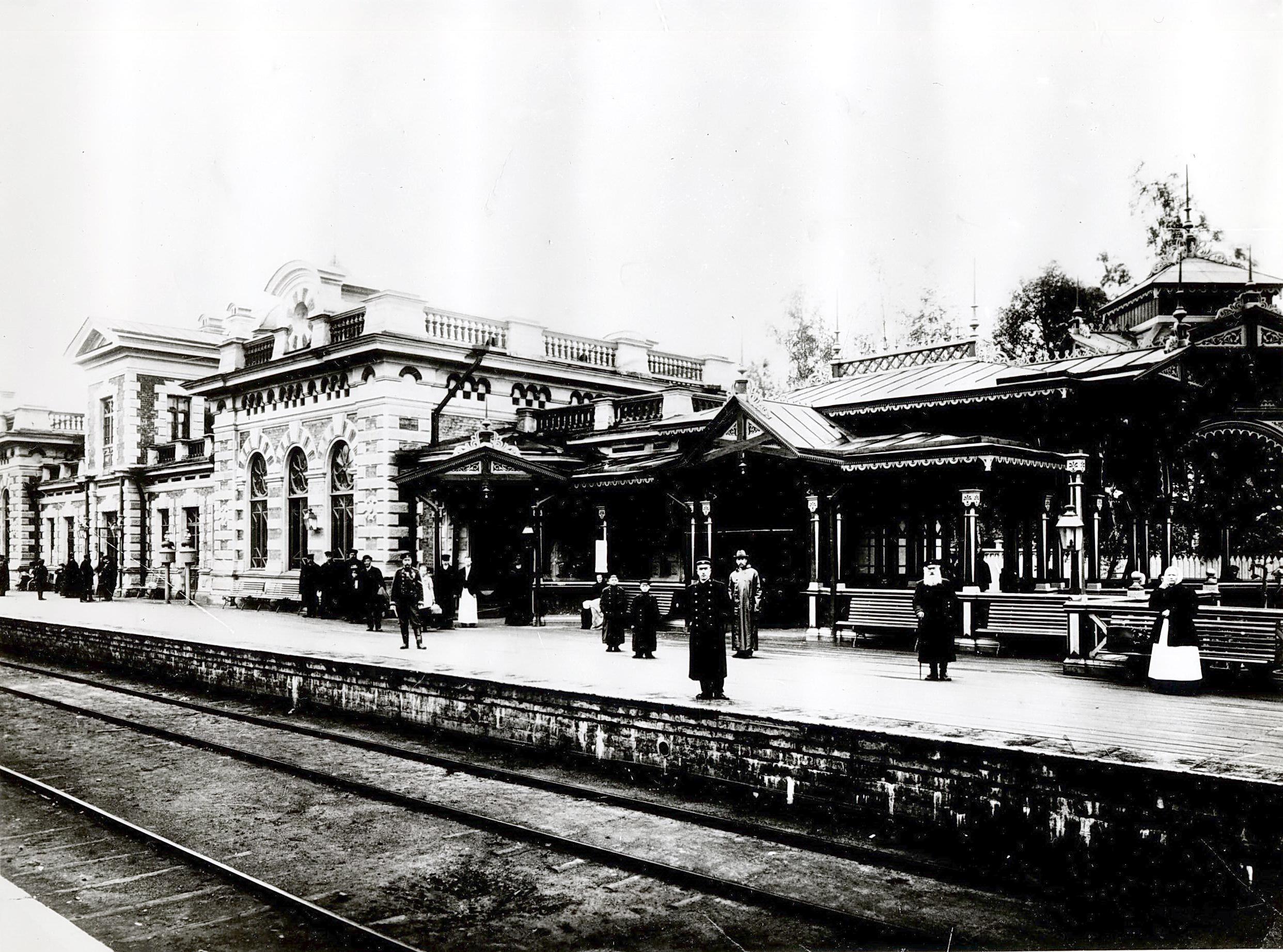 Станция «Старый Петергоф»