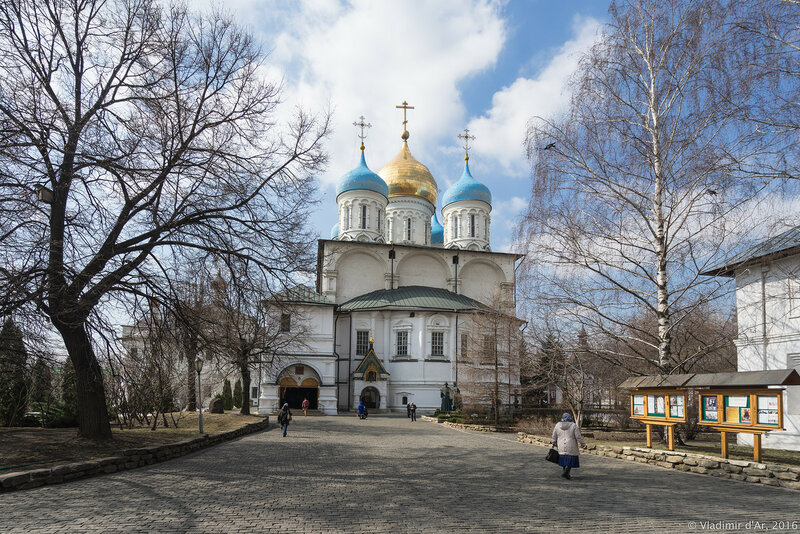 Спасо-Преображенский собор Новоспасского монастыря