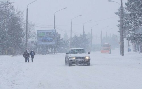 ВМолдове неработают шесть пограничных пунктов из-за метелей