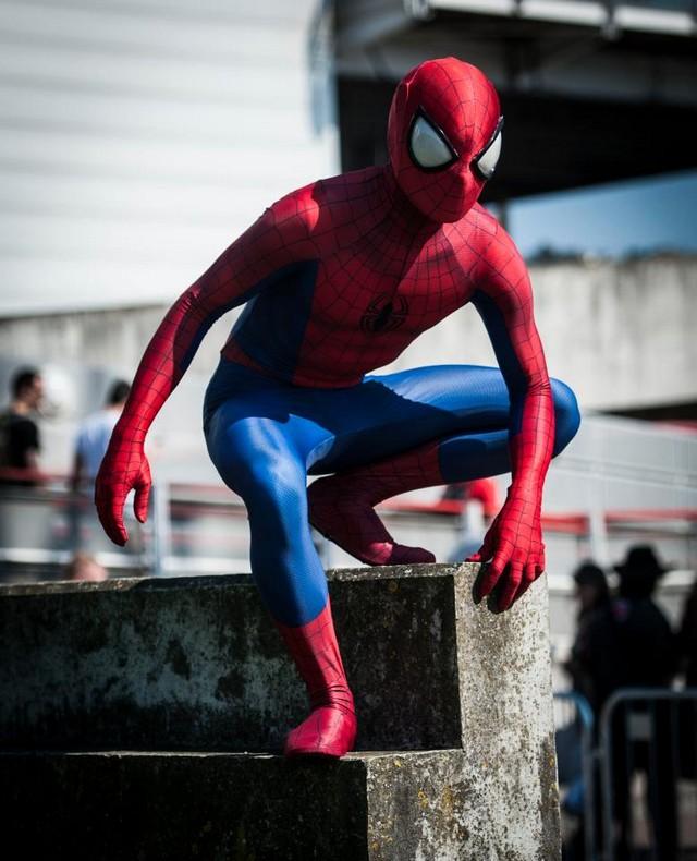 Удивительные костюмы участников Comic Con в Лондоне