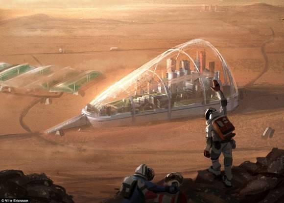 NASA штурмует Марс: Национальное космическое управление США начинает строительство жилого космического модуля
