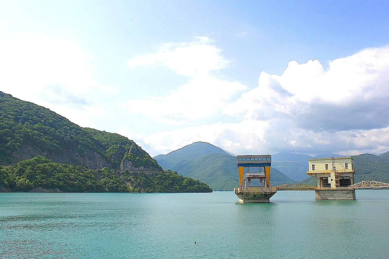 Жинвальское водохранилище