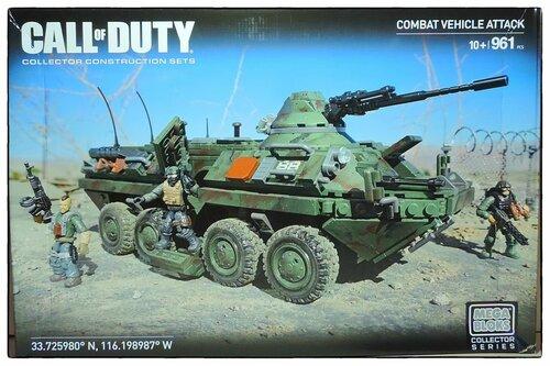 "Фотообзор Mega Bloks Call of Duty - ""Combat Vehicle Attack"""