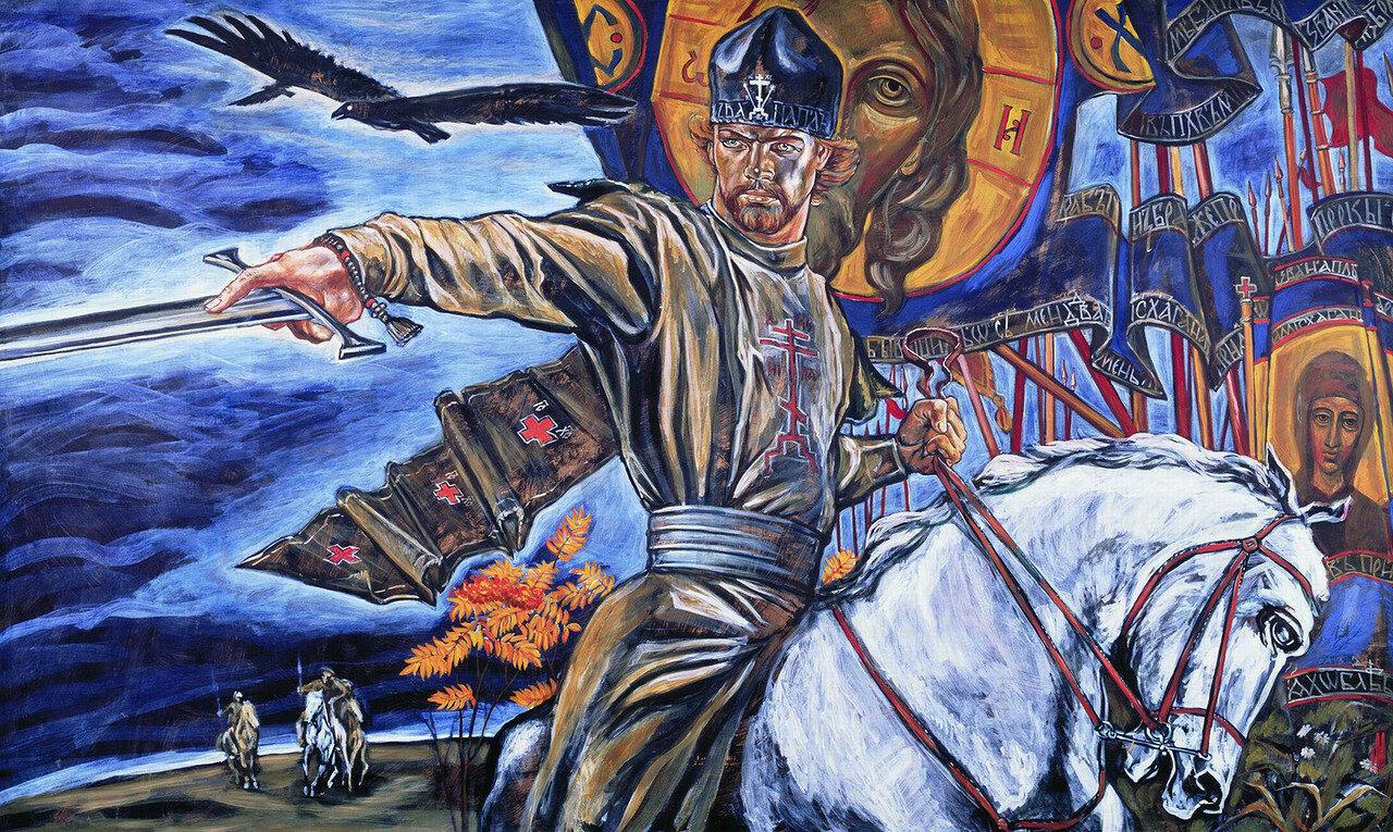 13. Куликово Поле. 2001. Михаил Малеев (о. Михаил). jpg