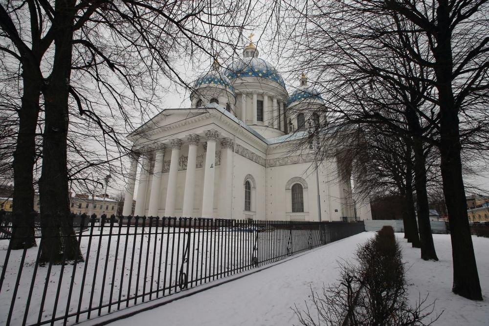 Двадцать лет и млрд руб.: вПетербурге отреставрировали Троицкий храм
