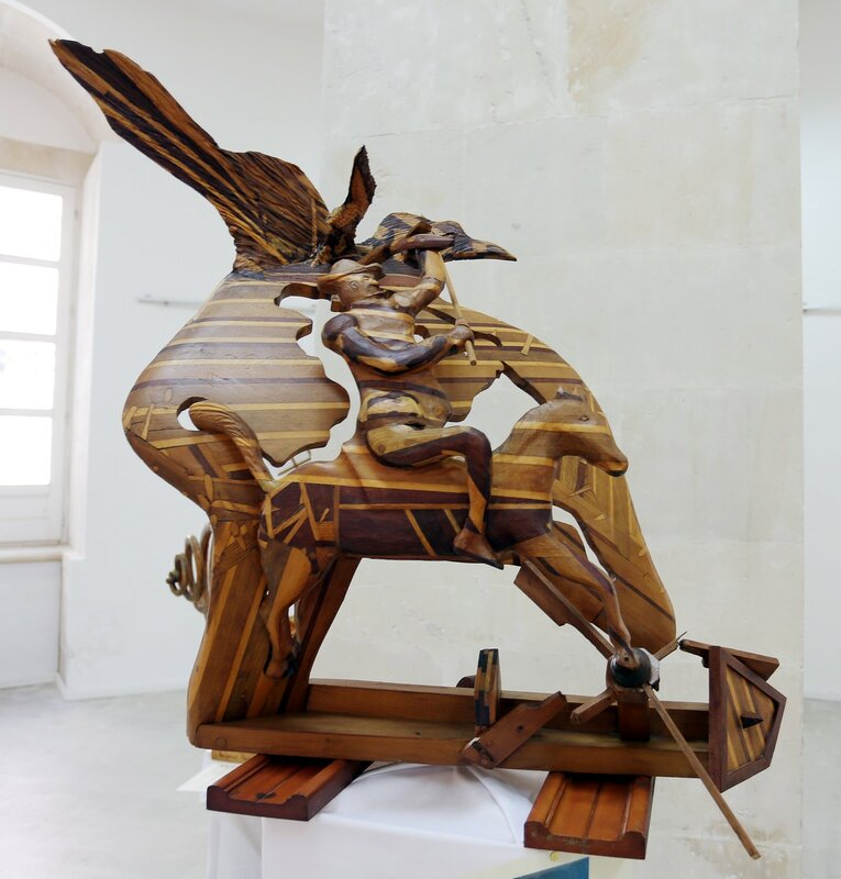 Wooden sculpture by Antonio Randazzo