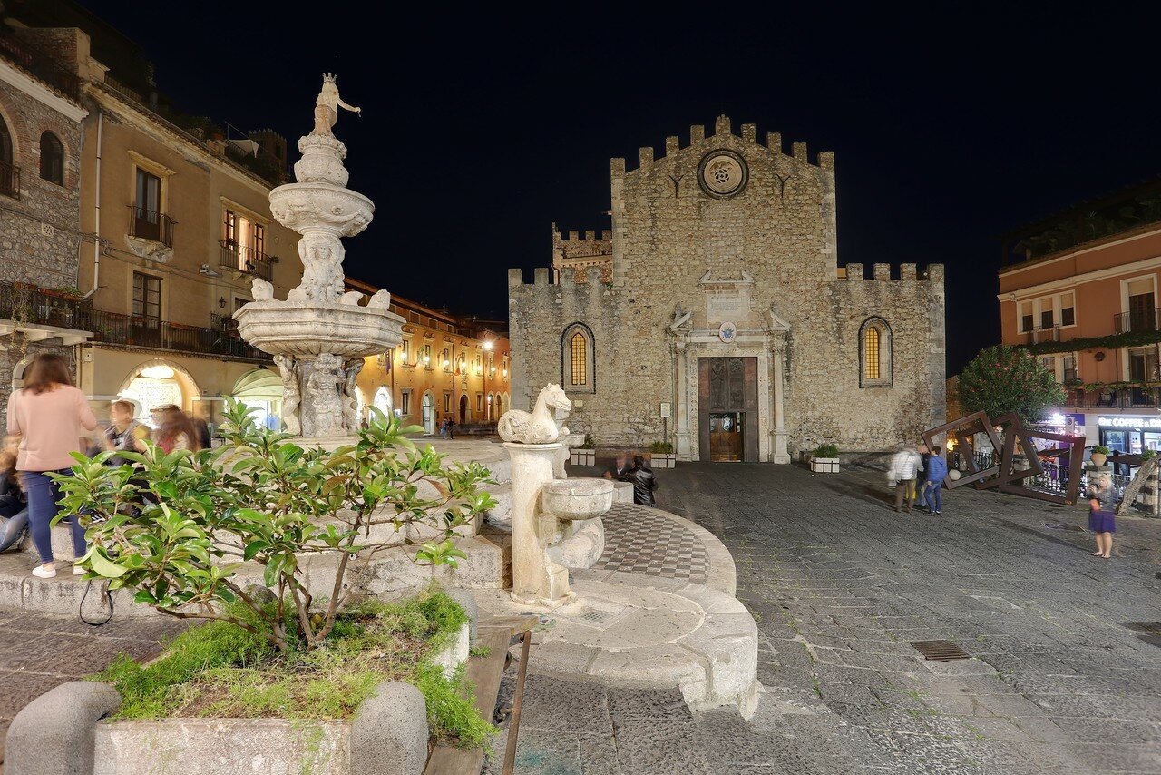Taormina. Taormina Cathedral (Duomo)