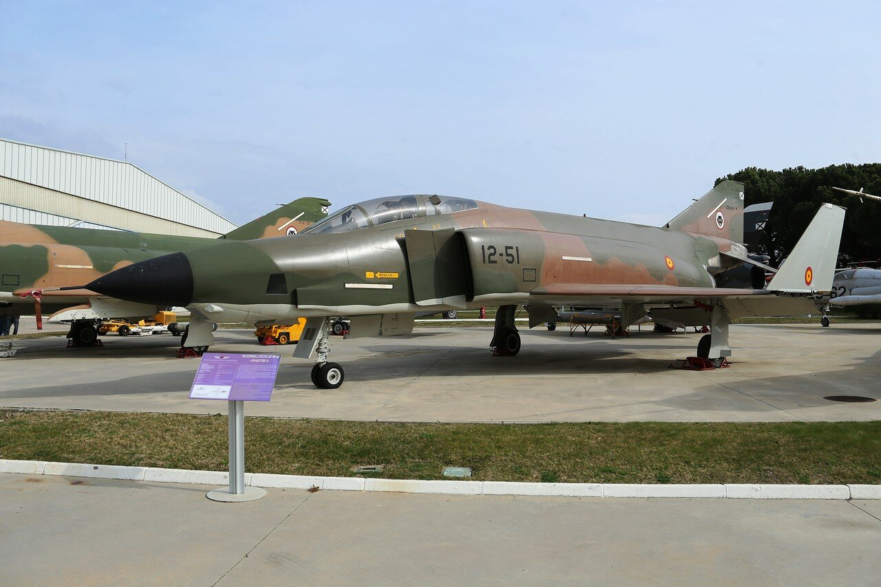 McDonnell Douglas RF-4C Phantom II (Museo del Aire, Madrid)