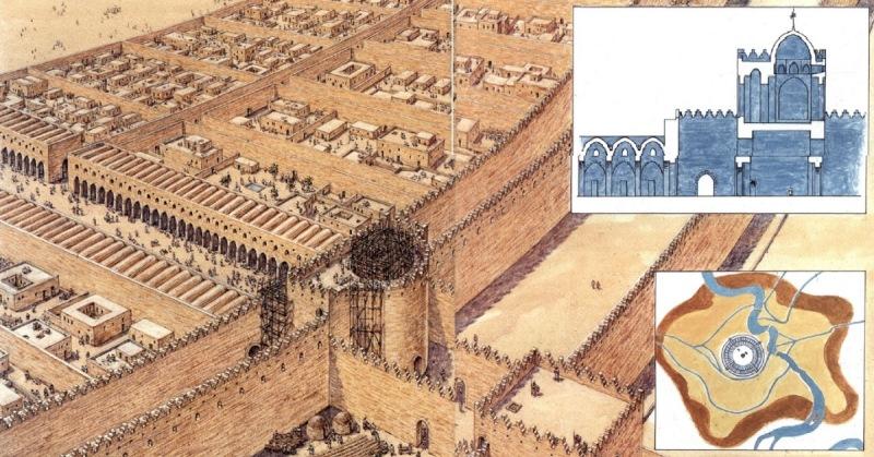 Мадинат аль-Салаам стал одним из красивейших и богатейших городов своего времени. Всего за четыре го