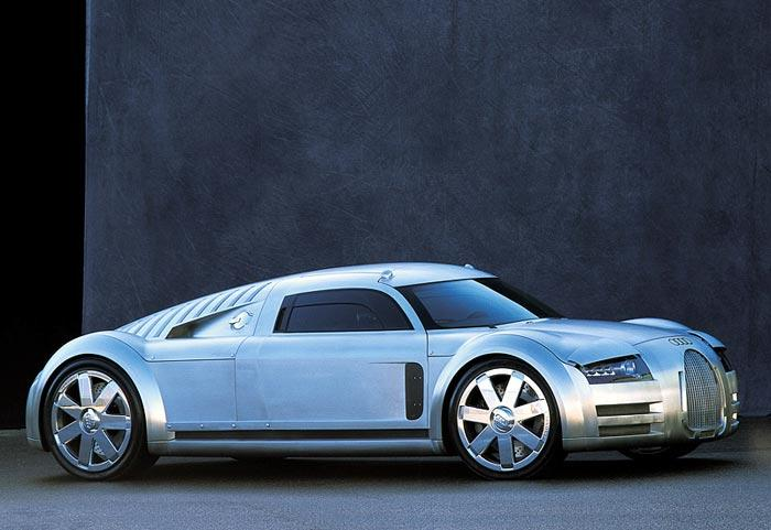 9. Audi Rosemeyer Этот болид был создан в 2000 году и получил название в честь знаменитого гонщика 3