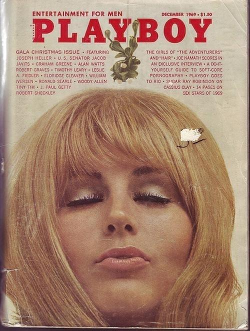 1969 год. Омела в виде кроличьей головы.