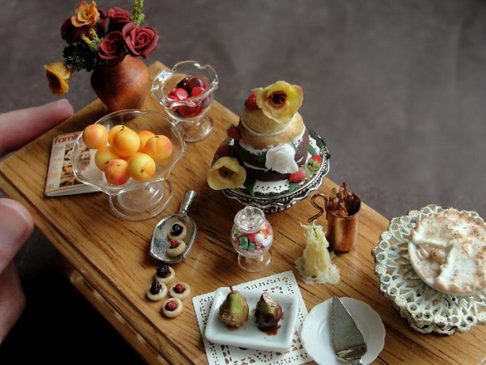 Десертный стол.