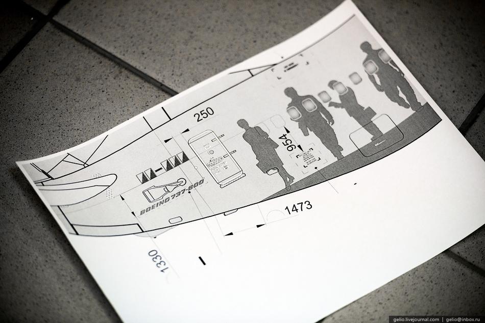 Завершающий этап — покрытие самолета синтетической эмалью фирмы PPG воздушной сушки. Она исправляет
