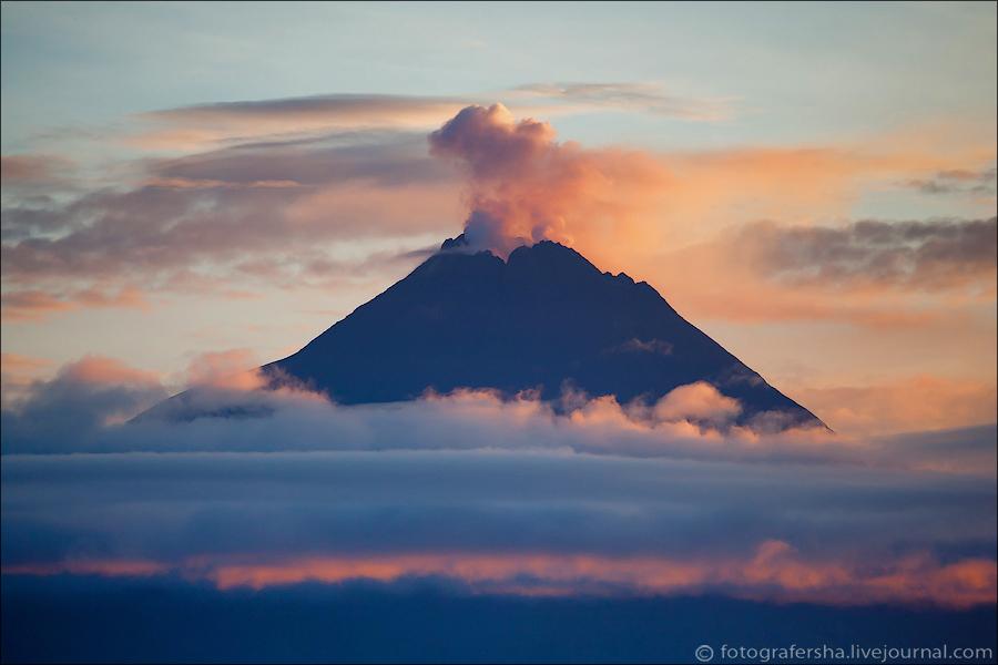 Утренний туман хорошо снимать как раз сверху и на рассвете! Фантастическое зрелище!