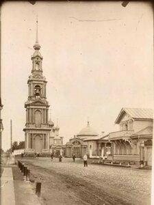Колокольня и церкви Казанского прихода